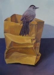 Catbird-on-Bag